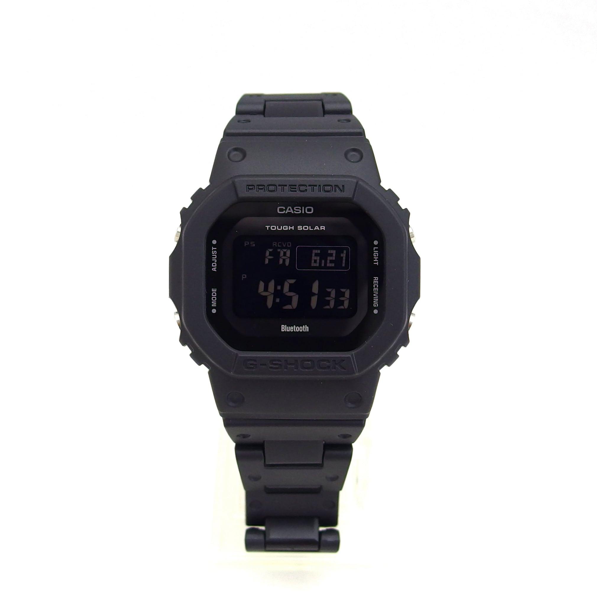 【G-SHOCK】GW-5600シリーズ(ブラック) 電波ソーラー/Bluetooth通信
