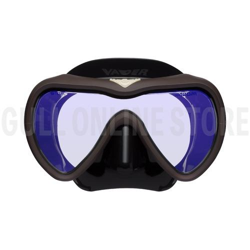 VADER [BSFR] オリジナルマスクバンドカバー付き! GULL ダイビングマスク