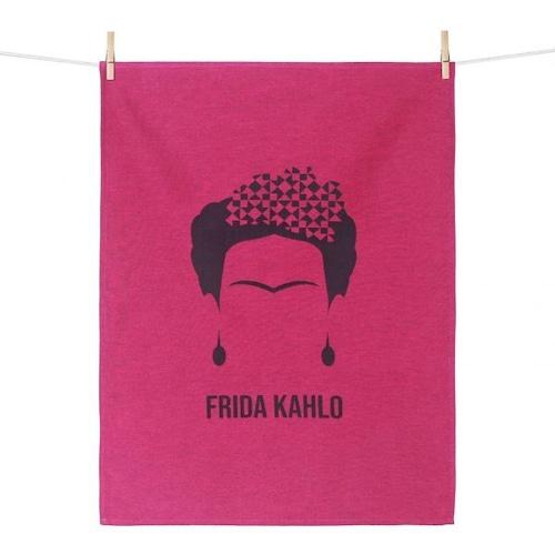 ティータオル FRIDA KAHLO(フリーダ・カーロ) Tissage Moutet