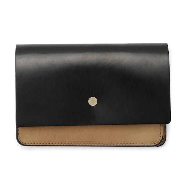 forme Hand wallet combi Cordvan black