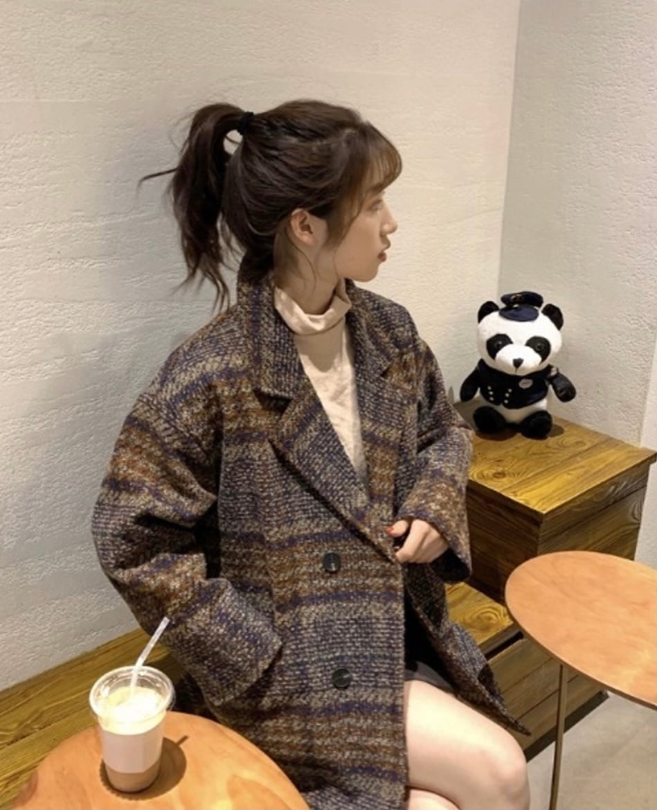 【SSC atelier】check jacket
