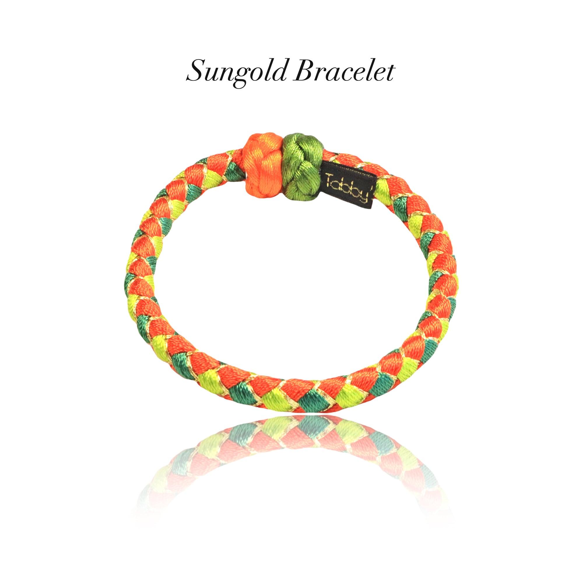 【アクセサリ】Sungold 組紐ブレスレット