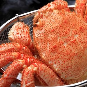 【毛ガニの本当の味を知りたい方へ】北海道産 絶品 活ボイル毛ガニ 500-550g×1尾