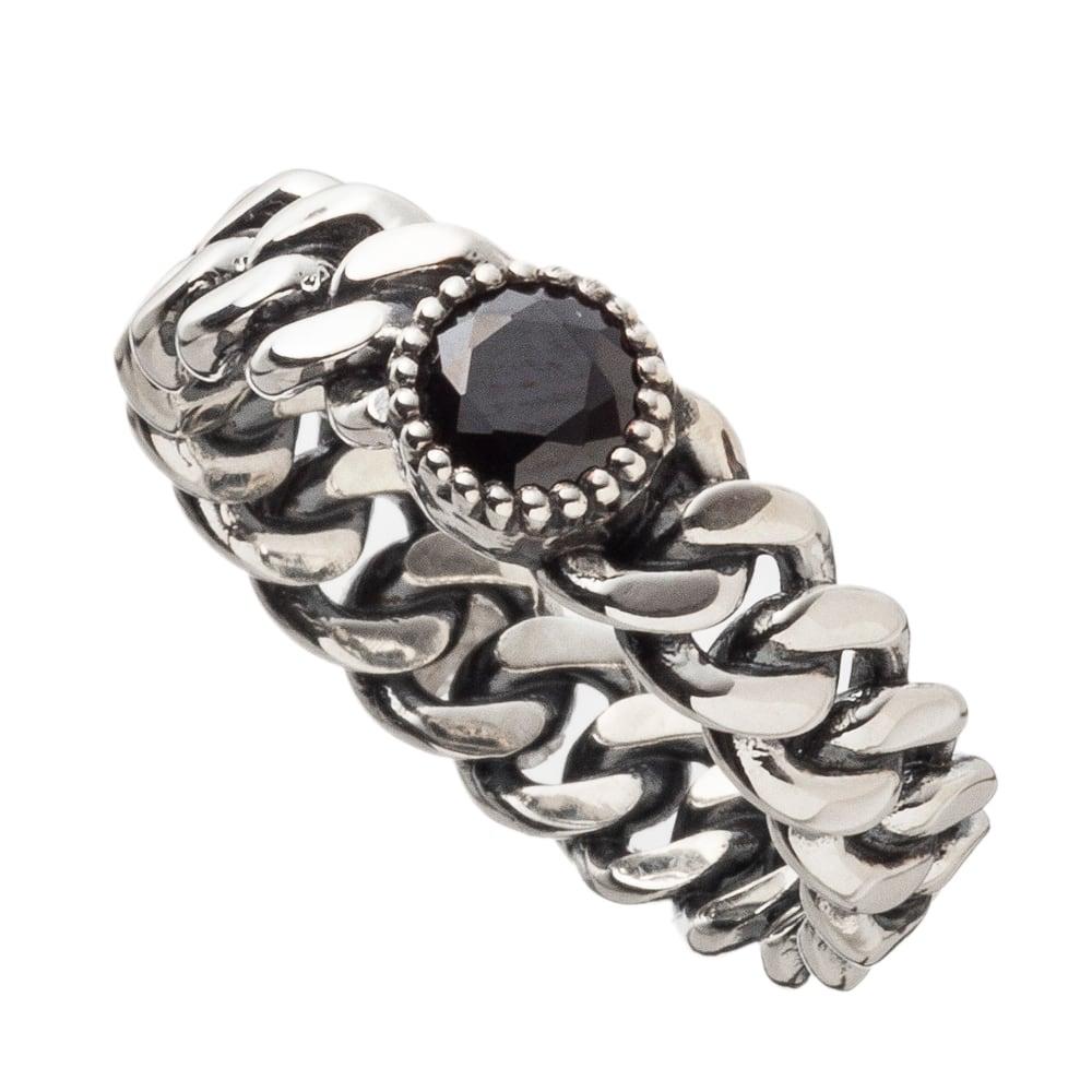 喜平ストーンリングBK ACR0276 Kihei Stone Ring Black