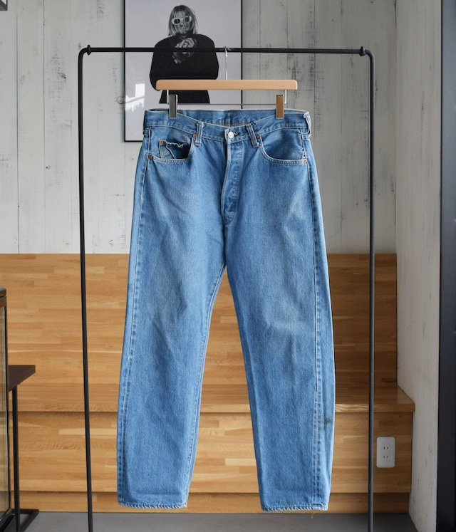 VINTAGE 80s LEVI'S 501 DENIM PANTS MADE in USA