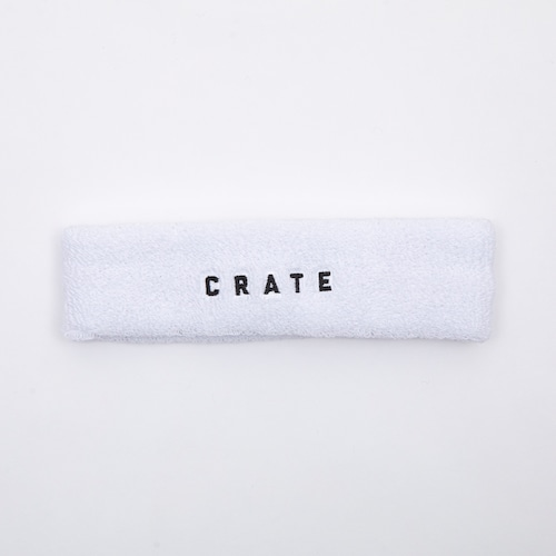 CRATE HEAD BAND White