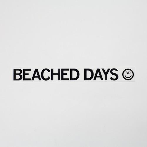 【BEACHED DAYS】BEACHED DAYS STICKER L