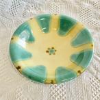 『ノモ陶器製作所』皿7寸 緑