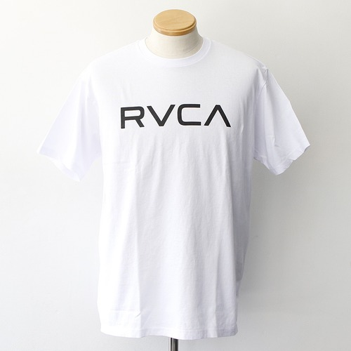 BIG RVCA SS TEE (WHITE)