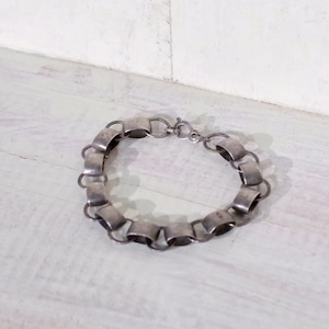 Vintage Sterling Silver Chain Bracelet / ヴィンテージ スターリング シルバー ブレスレット