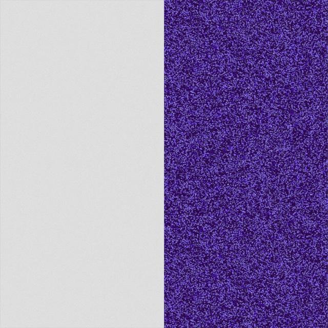 【エリゼ宮殿 x レジョルジェット カプセルコレクション】14mmレザー ブランリベルテ&ブルーパユテ (ブルーグリッター&ホワイト)