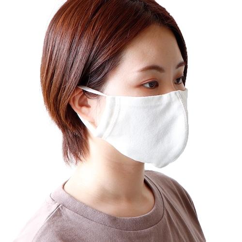 夏用冷感REFRESH マスク(同色3枚組)ホワイト/ベビーブルー ※送料無料