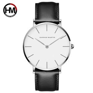 高品質ローズゴールドダイヤルウォッチメンズレザー防水腕時計レディースドレスファッションクォーツムーブメントCB01-YH