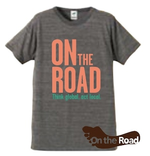 On the Road Tシャツ《グレー》