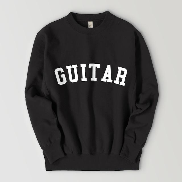 GUITAR BIG LOGO SWEAT (BLACK)