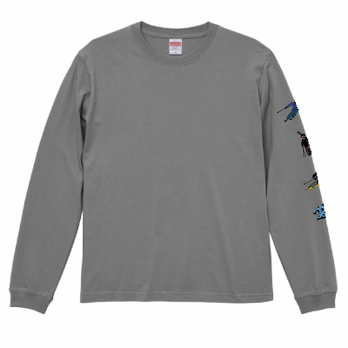 3BROS long sleeves (Gray) M size