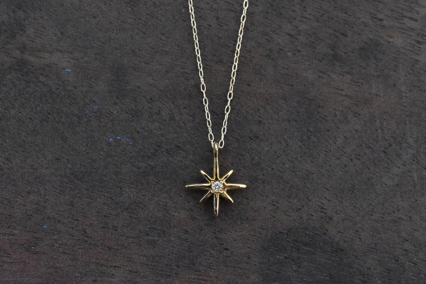 Starlight ダイヤモンドネックレス / K18YG