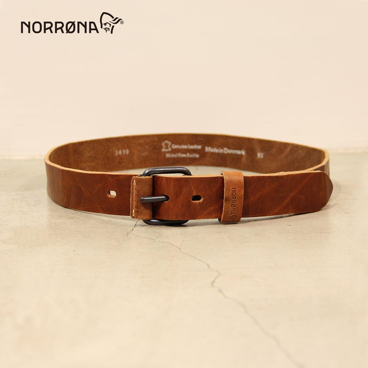 NORRONA   leather Belt