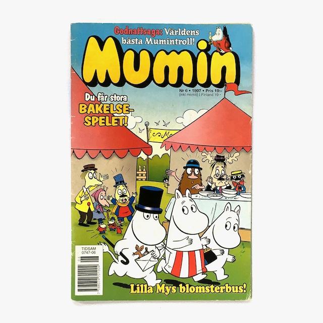 トーヴェ・ヤンソン「Mumin - Nr.6 1997(漫画雑誌ムーミン 1997年6号)」《1997-01》