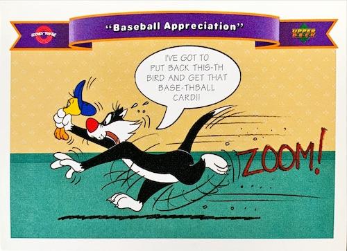 MLBカード 92UPPERDECK Looney Tunes #166