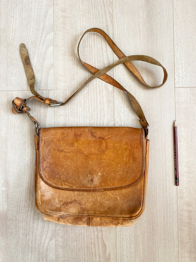 used leather bag No.005「英国マスカレード」