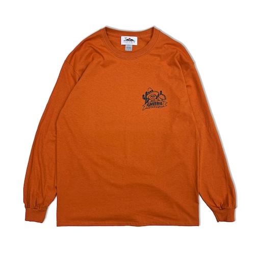 TACOS Shop L/S Shirts【Deep Orange】