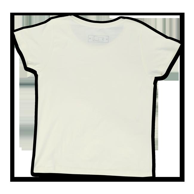 sasakure.UK 「ココロ♥ポッカリ」Tシャツ(レディース/シャーベットイエロー) - 画像2