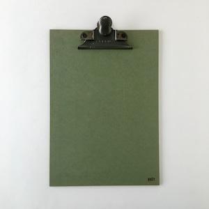 【訳ありセール】オランダのクリップボード A4(グリーン) 【Damaged】Clip Board A4 Green