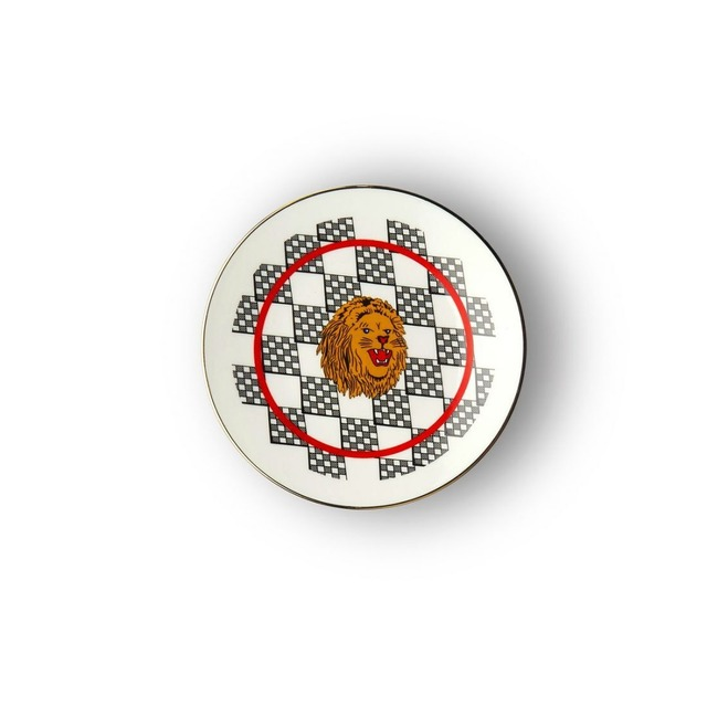BITOSSI HOME - mini plate - Bel Paese Lion