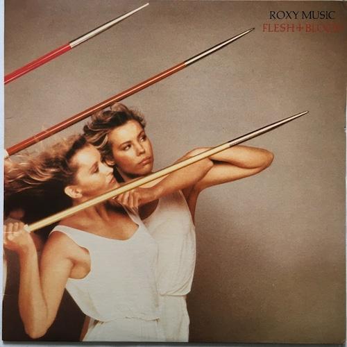 【LP・米盤】Roxy Music  /  Flesh + Blood