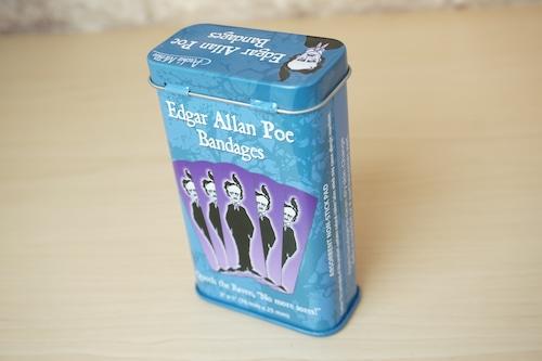 バンドエイド缶(EDGER ALLAN)※新品です!