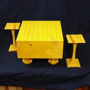 将棋盤 日本榧 駒台とペアでどうぞ