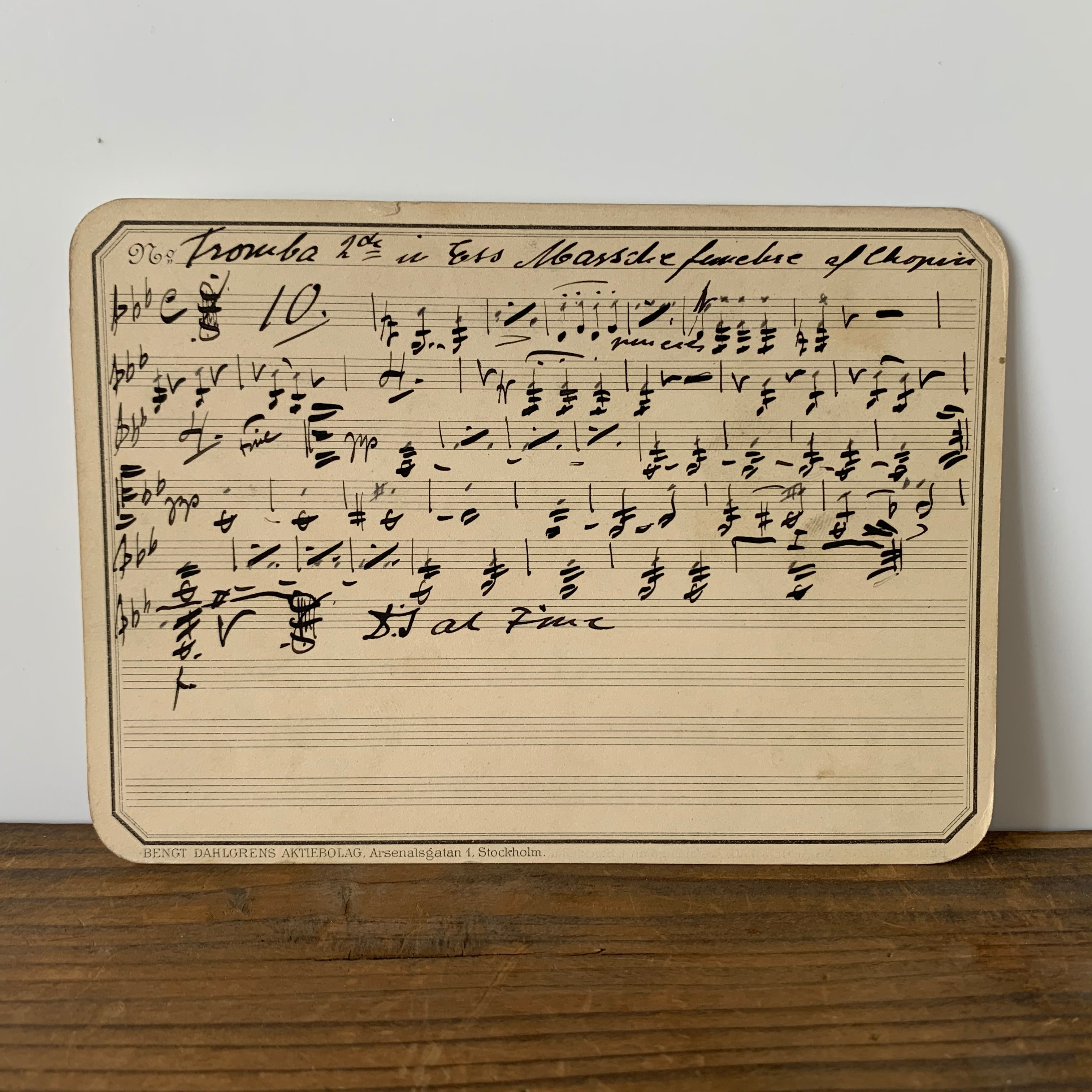 Sheet Music No.4
