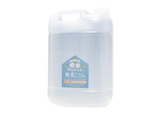 天然素材100%の消臭・除菌水「わんにゃん無臭Life」詰替用5,000ml(5L)