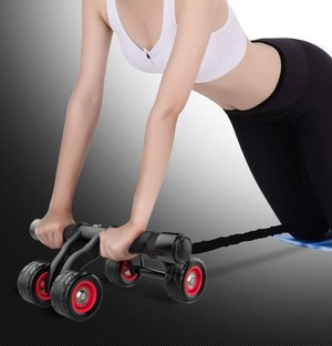 シェイプアップローラー 腹筋ローラー スリムローラー アブローラー スポーツ 筋トレ 運動 ダイエット 在宅 腹筋トレーニング 女性 健康 腕 下腹 鍛える cw-a-2916