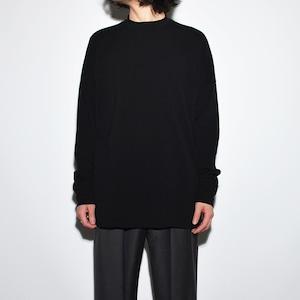 All Matching Long Sleeve 〈漆黒 / Super Black〉