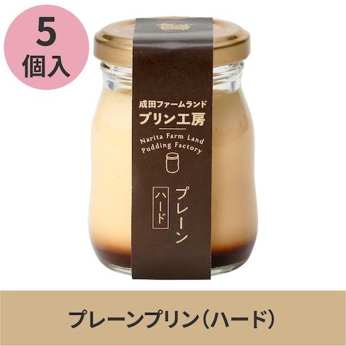5個入プリン(プレーン/ハード)