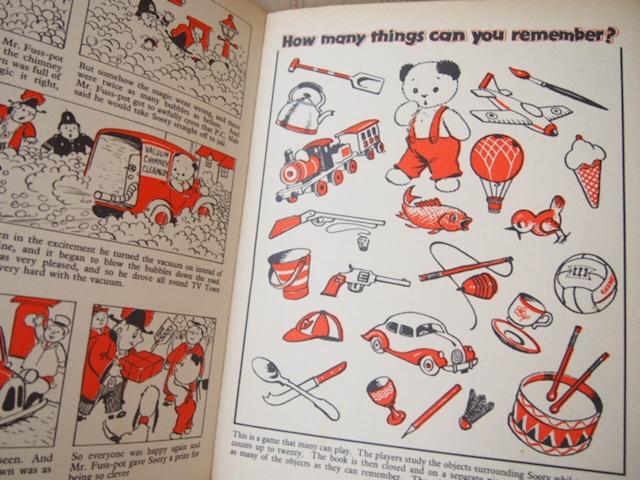 イギリスアンティーク SOOTYの絵本