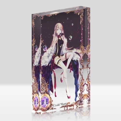 オリジナルアクリルブロック(クリア)【星之物語-Star Story- 蠍座-Scorpius-】 / yuki*Mami