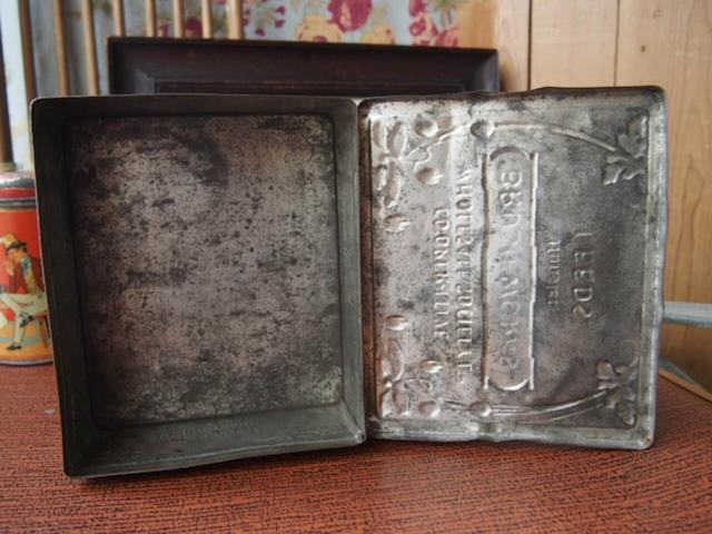 イギリスアンティーク Shoe Cleaning Kit Box