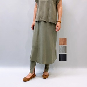LILLY LYNQUE(リリーリン) Easy skirt & leggings set 2021秋冬新作 [送料無料]