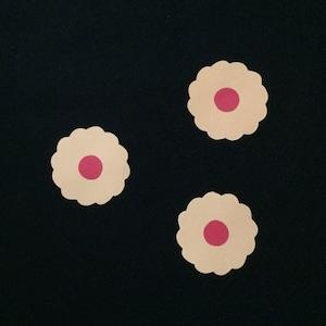 クッキー(赤)の壁面装飾