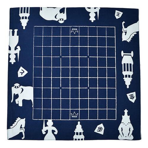 どこたま(風呂敷将棋盤)世界の将棋