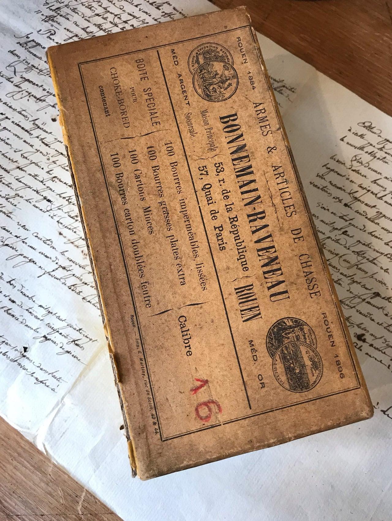 フランスの紙箱 BONNEMAIN RAVENEAU