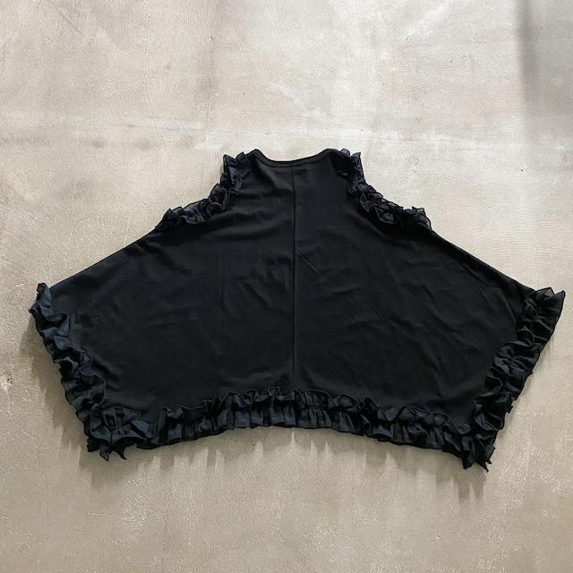 nunuforme  フリルドレープT Black [19-nf15-977-500] 115/125/135