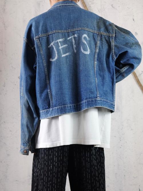60's JETS denim jacket