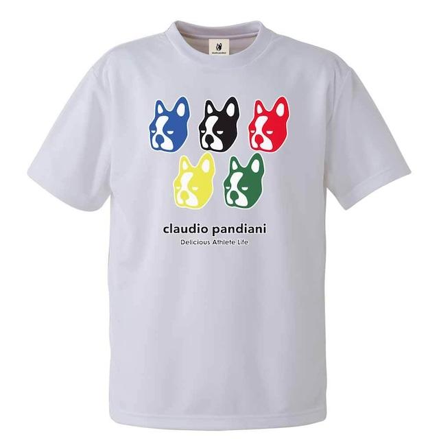 五犬+5 半袖Tシャツ(CP20243)/ホワイト(1)
