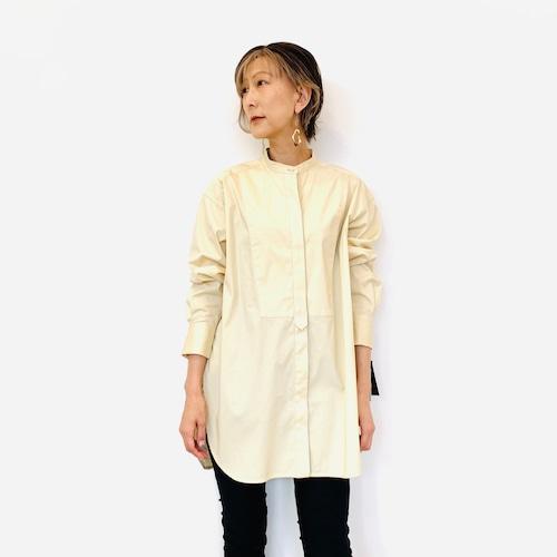 MICA&DEAL (マイカ&ディール) バンドカラーシャツ 0121301171