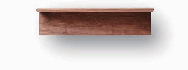ウオルナット 神棚板(神具セット・小付)