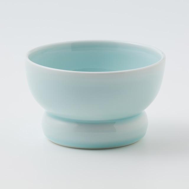 有田焼【まどか】ロータイプ(水用) 青龍(せいりゅう) 製造:アリタポーセリンラボ